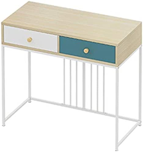 CJX-Dressing Tables Multifunktions-Tisch, Schlafzimmer-Schminktisch Student Study Table Schreibtisch mädchen Make-up-Tisch Haushalt Schminktisch (Farbe   Weiß