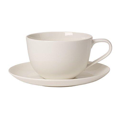 Villeroy & Boch for me Tasse Petit déjeuner avec Assiette, 2 pièces, Premium Porcelaine, Multicolore