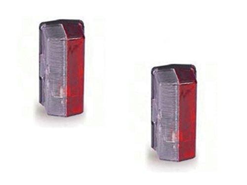 FKAnhängerteile 2 x Umrissleuchte Seitenmarkierungsleuchte Jokon + Glühbirne - 12.0007.000
