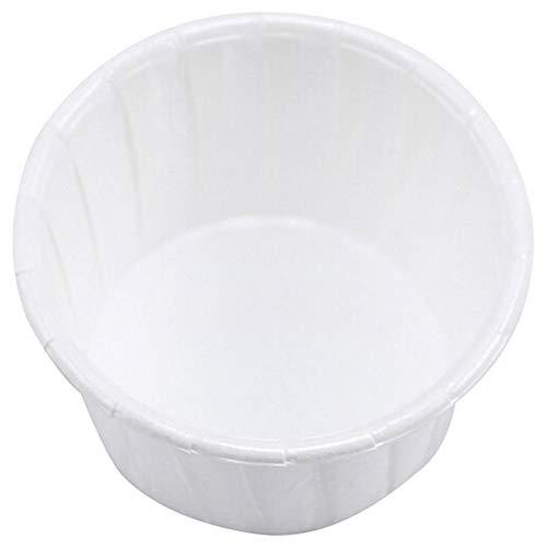 Cobeky Papierbecher für Nasenhaare, Gesichtshaar, Haarentfernung, Wachs, Bohnen, Kuchen, Papierschale, Schmelzwachs, Eiscreme, Organizer