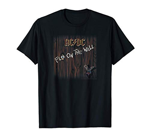 AC/DC Fly On The Wall Album T-Shirt, Black, Adult, Child S to 3XL