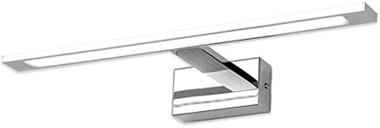 T-TWJQ LED Spiegel Scheinwerfer Bad Spiegel Schrank Spiegel Lampe Bad Make-up Schminktisch Bad WC Spiegel Lampen, weies Licht, 78cm24W