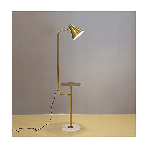 ZYLE Lámpara de pie nórdica Sala de Estar sofá Mesa de café Dormitorio Junto a la Cama lámpara de pie Moderna Creativa Simple