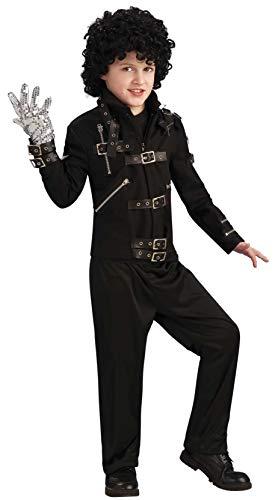 Michael Jackson Child's Bad Buckle Jacket Costume Accessory, Large