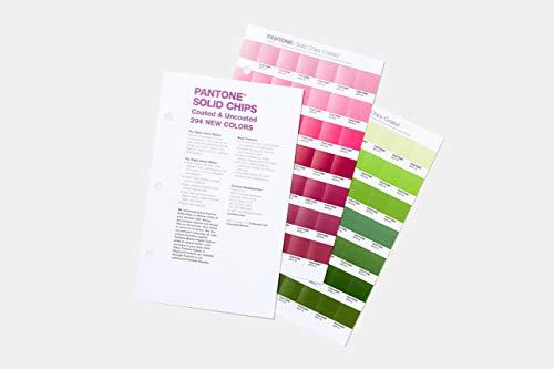 PANTONE GP1606A-SUPL Solid Chips Supplement Farbführer, Mehrfarben
