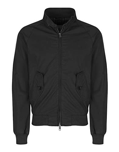 Baracuta G9 Harrington Jacket Off Black-46