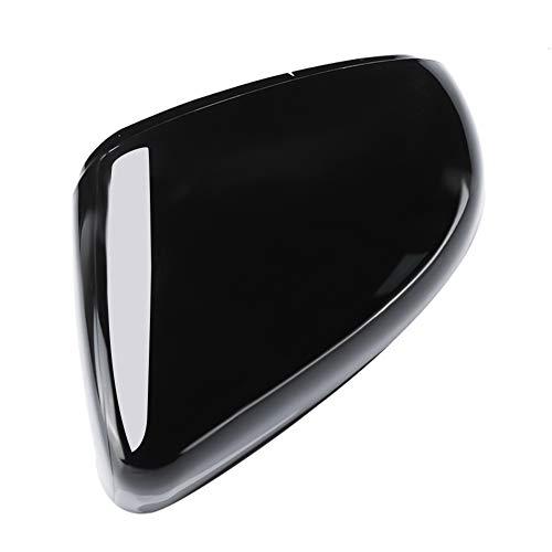 Fydun Gehäusedeckel Spiegelgehäuse, schwarz Auto links Rückspiegelgehäuse Shell Cover für GOLF 6 2009-2012
