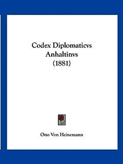 Codex Diplomaticvs Anhaltinvs (1881)