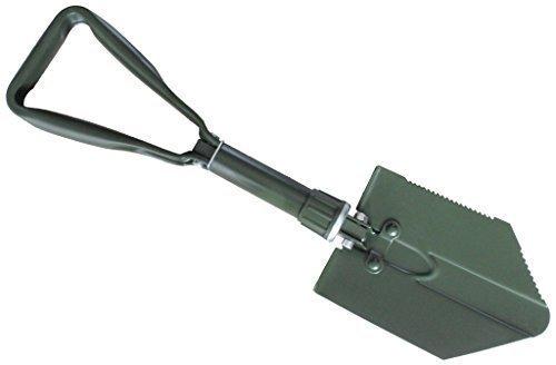Inet-Trades GmbH BW pala plegable con funda en color verde oliva, ejército...