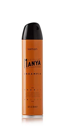Kemon - Hair Manya Dreamfix, Lacca per Capelli Professionale con Azione Antiumidità per Acconciature, Lunga Tenuta - 300 ml