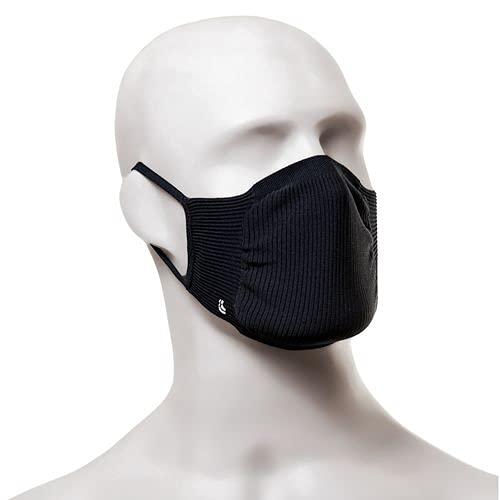 Kit com 8 Máscaras Bac OFF Microfibra Sem Costura Inativa Vírus, Lupo (Preto - Adulto, Adulto) (Preto - Adulto, Adulto)