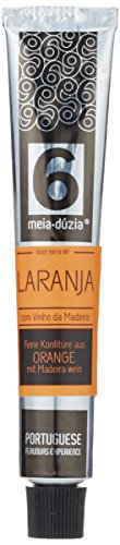 Meia Dúzia Orangen-Konfitüre mit Madeira Wein, 2er Pack (2 x 75 g)