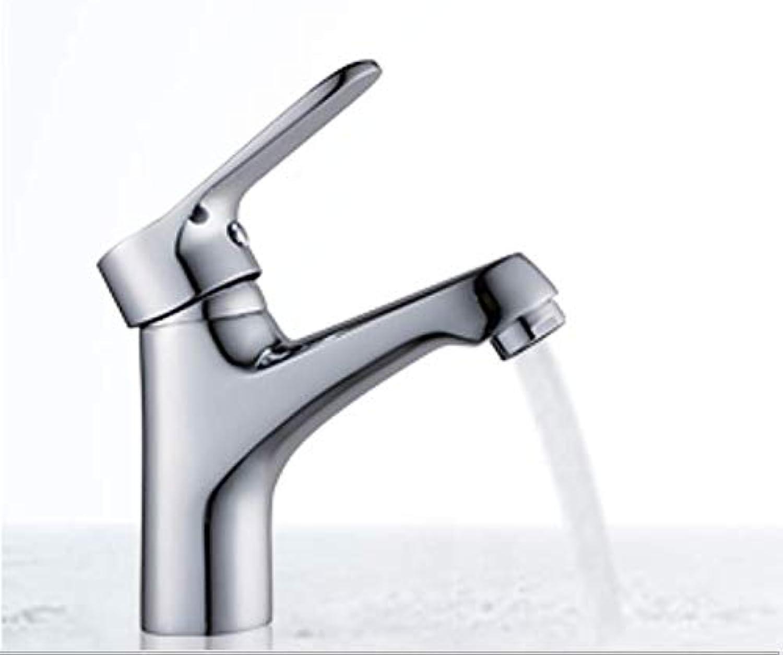 Waschbecken Wasserhahn Becken Waschbecken Einloch heier und kalter Wasserhahn kalt und warm Waschbecken unter dem Wasserhahn