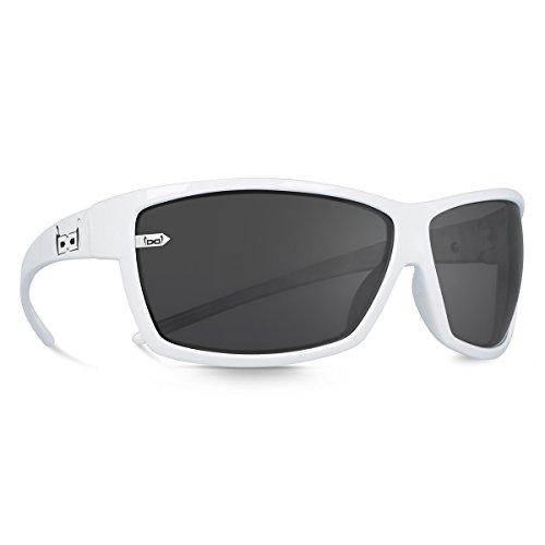 L gloryfy unbreakable eyewear gi3/Navigator Timo Scheider Occhiali da Sole Gloryfy Antracite//Black