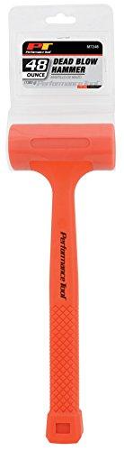 PERFORMANCE TOOL Professioneller Hydraulischer Werkstattsitz 23 48oz High-Visual Dead Blow Hammer M7248