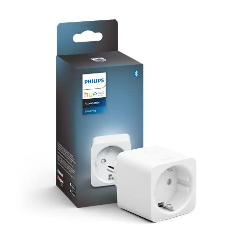 Philips Hue - Enchufe inteligente, Control remoto dispositivos, Ahorro de luz, Compatible con Alexa y Google Home