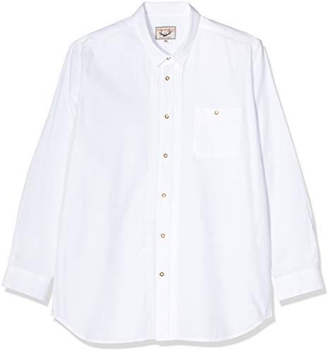 Stockerpoint Herren Mika2 Trachtenhemd, Weiß (Weiß), XX-Large