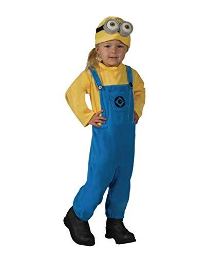 Horror-Shop Minion Kleinkinderkostüm Jerry für Karneval, Kinderfasching und Kostümparty Toddler
