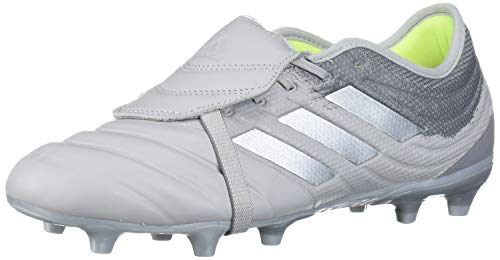 adidas COPA Gloro 20.2 FG Soccer Shoe, Grey two/silver Met./Solar Yellow, 10 Standard US Width US
