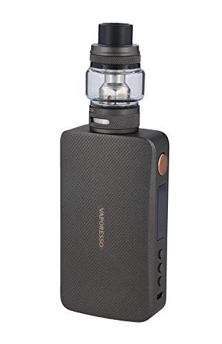 Vaporesso GEN S E Zigarette 220 Watt, Gen S Box Mod + NRGS, Grau, 8ml Verdampfer im Set