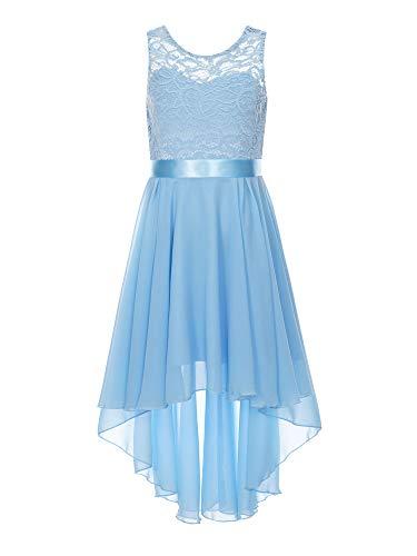 MSemis Vestido Elegante de Fiesta para Niñas Vestido Princesa Largo de Dama...