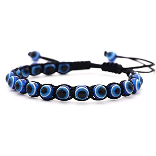 MISS RIGHT Evil Eye Nazar Amulet Necklace Ojo Bracelet...