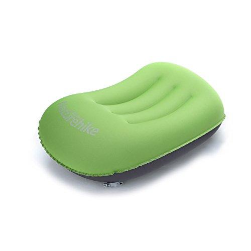 WINOMO Voyage de Camping ultra-léger gonfler l'oreiller portatif Compact confortable pour randonnée sac à dos pique-nique en plein air Sports (vert)