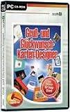Gruß- und Glückwunschkarten-Designer. CD-ROM für Windows ab 98. Der Design-Wizard.