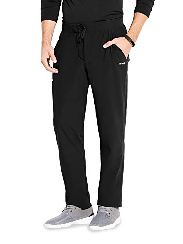 Grey's Anatomy Edge GEP002 Men's Evolution Scrub Pant Black L