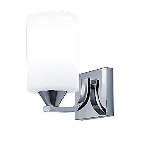 Andifany Luz de Cristal Moderna Led Aplique de La Pared Lámpara Accesorio de Iluminación, Decoración Interior Del Dormitorio, Cabeza única Sin Interruptor