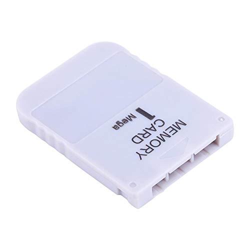 1 MB Memory Card für Sony Playstation 1 EIN Zubehör zum Speichern von Spiele PS1 für Klassische Spielsysteme