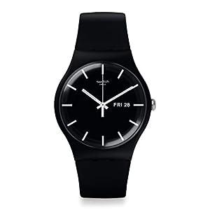 [スウォッチ] 腕時計 NEW GENT(ニュージェント) MONO BLACK SUOB720 正規輸入品 ブラック