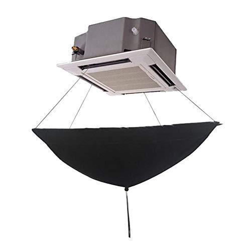 Qingsb Airconditioner Volledige reiniging Wasafdekkingen Plafond Wandmontage Airconditioning Herbruikbaar Stof Waterdicht Nylon Wasafdekking