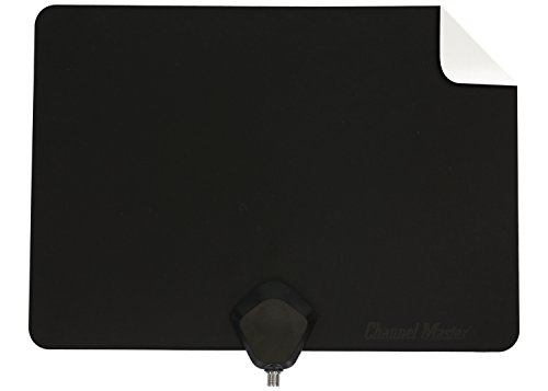 Channel Master Flatenna Ultra-Thin Indoor TV Antenna 35 Mile Range - Dual Sided Black or White - CM-4001HDBW. Buy it now for 19.00
