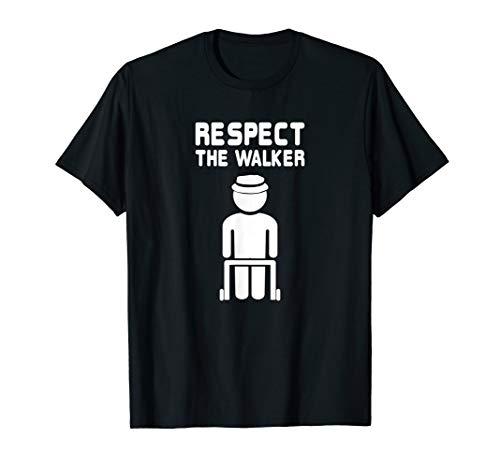 Senior Citizen Shirt Elderly Old People Walker Birthday Gift
