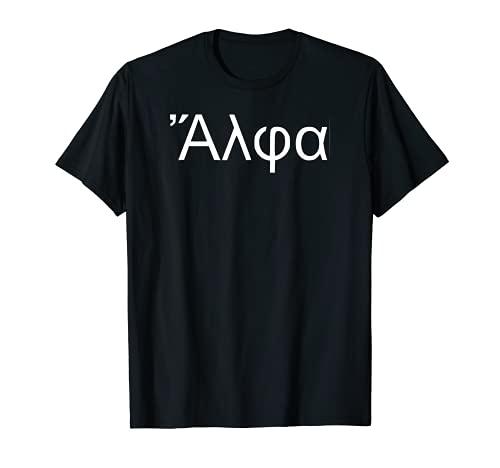 Generación alfa alfa en griego antiguo Camiseta