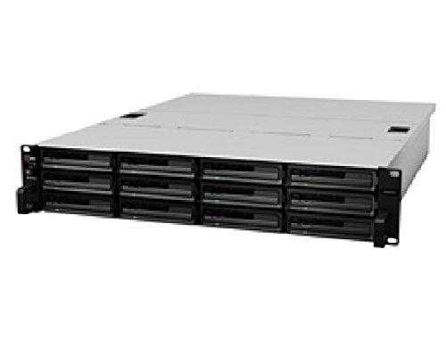 Synology RackStation Celeron XS - NAS-server - rack - geschikt voor inbouw - SATA 6 Gb/s - RAID 0, 1, 5, 6, 10, JBOD, 5 Hot Spare, 6 Hot Spare, 10-Hot-Spare, 1 Ho NAS / RackStation HTMxs / 12-bay / Diskless / max. 72TB / INTEL Core i3 Dual Core 3,4 GHz / 4GB DDR3 ECC RAM / 2x USB 2.0, 2x USB 3.0 / 4x Gigabit