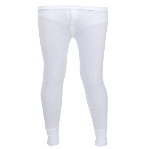 Sous-vêtement thermique - caleçon long et chaud pour hommes - Bleu - Taille 4 (M)