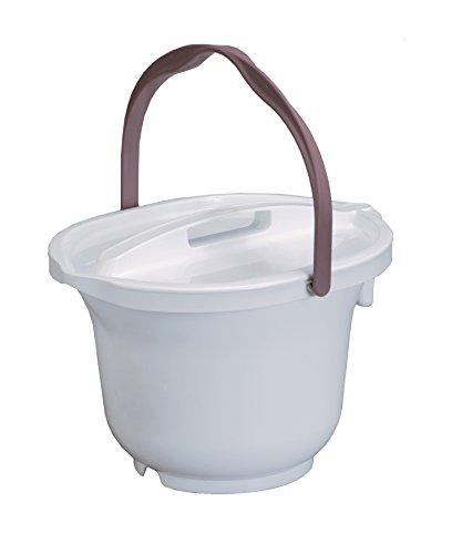 パナソニックエイジフリー株式会社 ポータブルトイレ用バケツ はっ水剤入 ホワイト PNL53018W