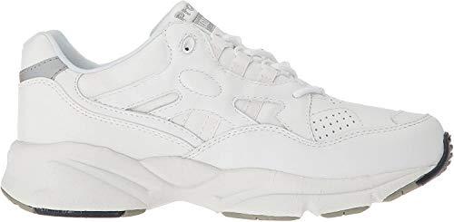 Propet Women's W2034 Stability Walker Sneaker,White,8 W (US Women's 8 D)