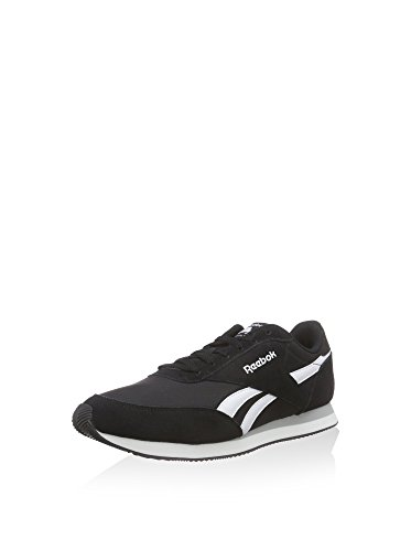 Reebok Herren Royal Classic Jogger 2 Sneakers, Schwarz (Black/White/Baseball Grey), 40.5 EU