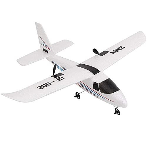 YIQIFEI Avión de Control Remoto de ala Fija con Control Remoto 2.4Ghz Carga con luz Avión RC Avión al Aire Libre EPP Resistente a caídas R (Juguetes Inteligentes)