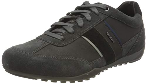 GEOX U WELLS C ANTHRACITE Men's Trainers Low-Top Trainers size 42(EU)
