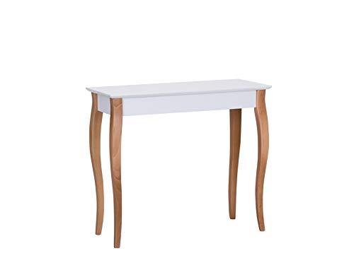 Ragaba LILLO Konsolentisch Wandtisch Telefontisch - FSC® Holz - Cabriole Beine - 85 cm Breit x 35 cm Tief x 75 cm Höhe