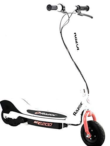 Razor E200 Electric Scooter - White