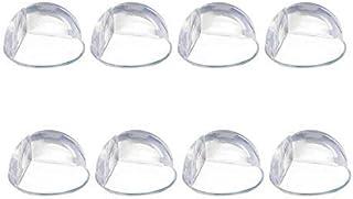 Store2508® Transparent PVC Corner Edge Guards Protector (Pack of 8)