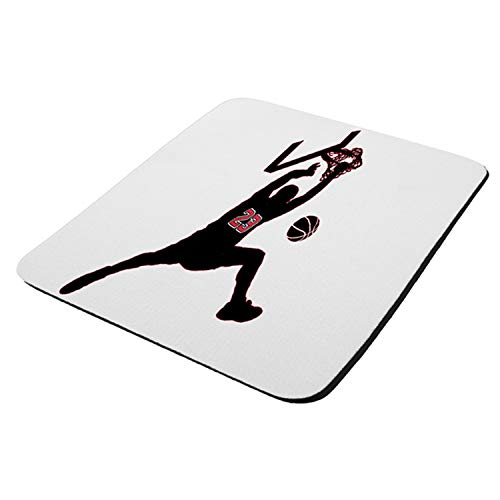 Just Like Jordan Basketball Dunk - Mouse Pad Thick Neoprene Rectangle for Home Office & Gamers (use as a Water Proof hot pad,Trivet,Mousepad)