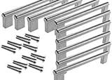 Maniglie per credenza da cucina, 10pz., da 160, 192, 256 mm, 160mm Hole Centre, 10 x 160mm