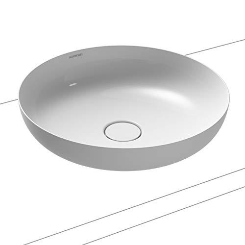 Kaldewei Waschtisch-Schale rund Miena 3180 (ohne Überlauf) inkl. Perl-Effekt Ø 45 cm alpinweiß