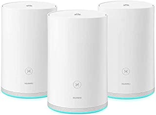 HUAWEI WS5280-21 WiFi Q2 Pro 3 Pack, 2.4Hz&5Ghz Dual Band Wi-Fi Router, Supporting 802.11a/b/g/n/ac, Supporting Faster Hyb...